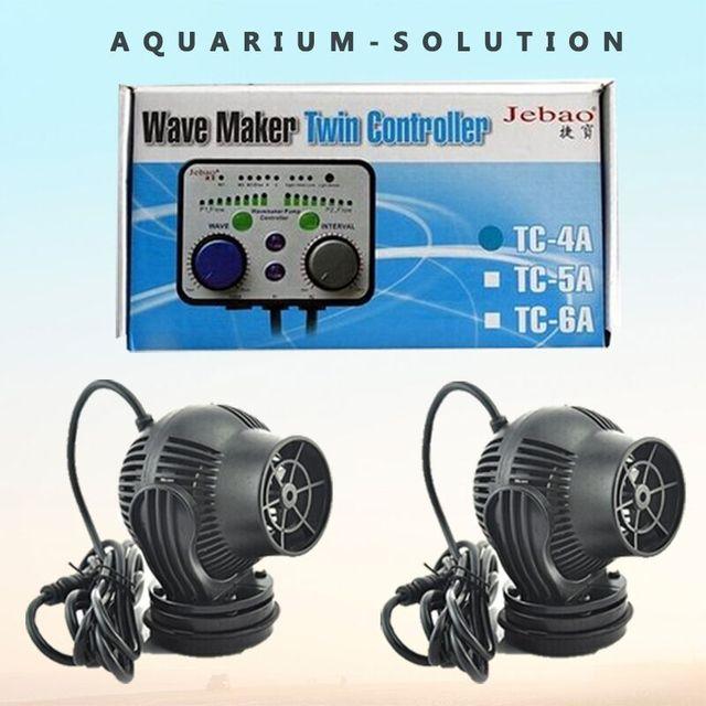 Jebao TC-4A Wave Maker Twin Controller Dual Linkage with 2 Pieces WP-10P WP-25P RW-4P RW-8P Wavemaker