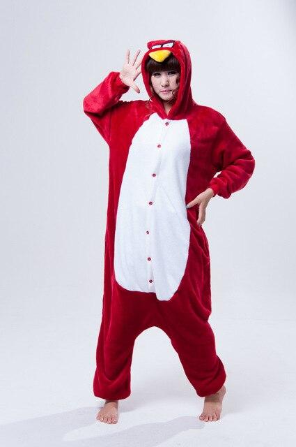 Мода фланели мальчиков и девочек соответствующие наряды комбинезон сердитые птицы хэллоуин костюмы для семьи сопоставления одежда