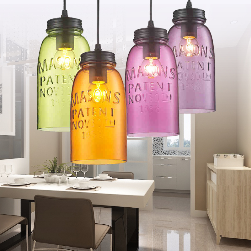 colored pendant lighting. modern stainde glass pendant light fixtures color wine shade lamp bar restaurant living room decoration colored lightingin lights from lighting