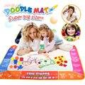 120*90 см забавная Волшебная Водная раскраска для рисования  коврик для рисования с 4 волшебными ручками  доска для рисования для детей  игрушк...