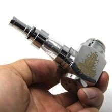 E-xy martillo e tubería mod kit ecigarette con v2 atomizador de acero inoxidable mecánica e-pipe e-pipe electrónica kits de vapor de cigarrillos