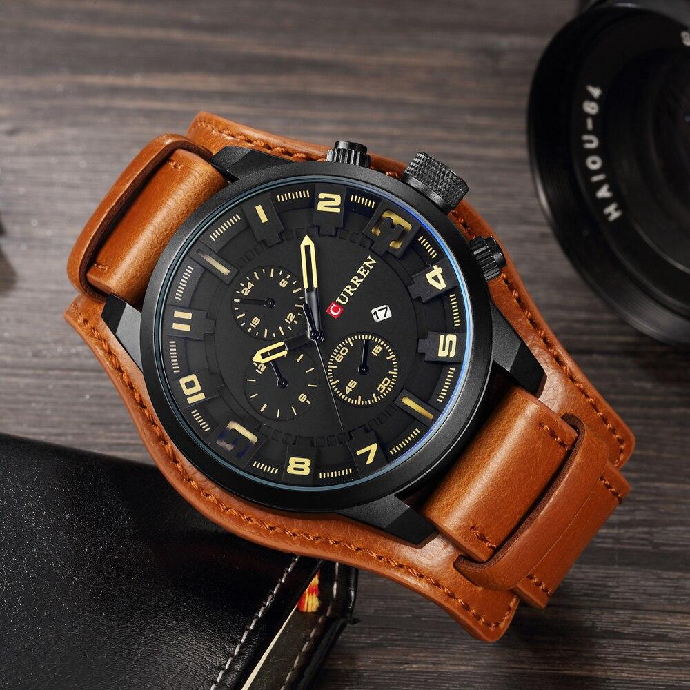 Элитные мужские часы Curren 8225 в Петрозаводске