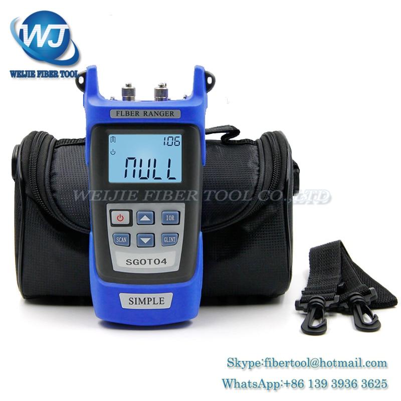 Handheld OTDR 60KM Fiber find fault tester 1310 or 1550nm SGOT04 Fiber breakpoint fault detector with