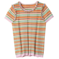 tees tops striped momen 2017 spring summer new