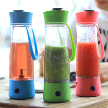 2000hmA Mobile Power Bank Portable Fruit Blender Mixer Cup Outdoor Mini Juicer Juice Maker Machine