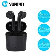VONTAR T4 TWS Mini HIFI Écouteur Jumeaux Casque Bluetooth Casque Avec Boîte de Charge Vraiment Sans Fil Écouteur