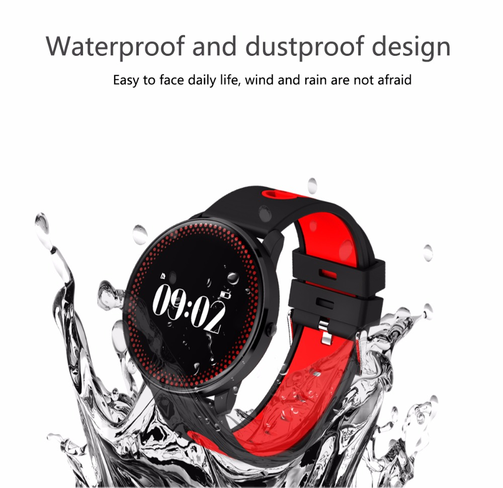 Waterproof Watch Bracelet Monitor Blood Pressure And Heart Rate Smart Watch 4