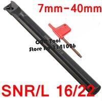 SNL SNR0008K08 SNR0008K11 SNR0010K11 SNR0012M11 SNR0016Q16 SNR0020R16 SNR0025S16 SNR0032T16/22 SNR0040T22 Internal Thread Tools