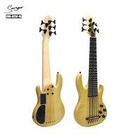 Electric Ukulele Bass 2019 Ubass Guitar 30 Inches 5 Strings Mini Bass UKU Electro Guitars Pickup High Quality Poplar High Gloss