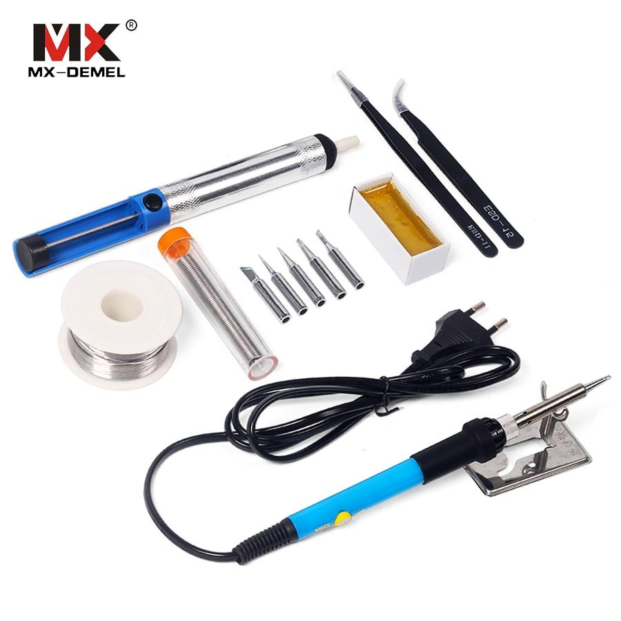 MX-DEMEL 220V 60W Kit per saldatore elettrico a temperatura - Attrezzatura per saldare - Fotografia 5
