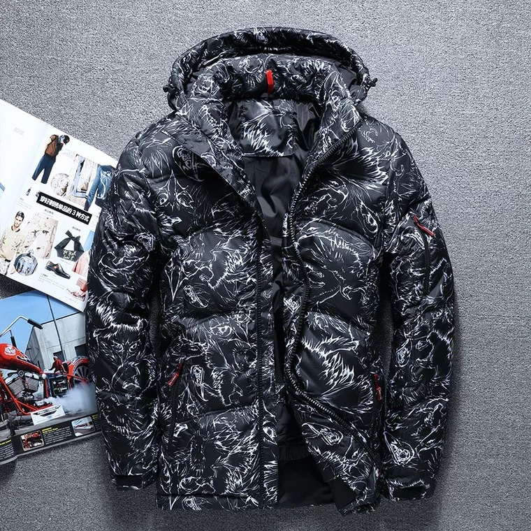 2018 New masculina Men down jacket Males hooded down coat casaco masculino inverno Men Winter thick Duck Down Clothes