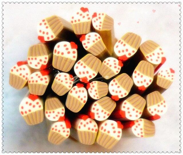 Nail art accessories diy material nail art clay bar polymer clay fruit of mobile beauty materials clay bar