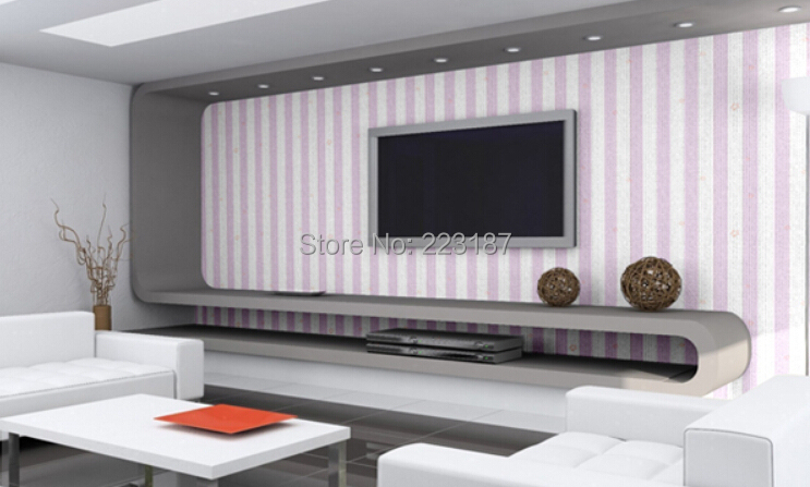 10m*45cm self-adhesive PVC wallpaper baby kids children room wall sticker home decor Pink blue stripe stars TV wall waterproof 224 wall sticker home decor pvc adhesive waterproof baby wallpaper10m 45cm bedroom living room background wall sticker wholesale