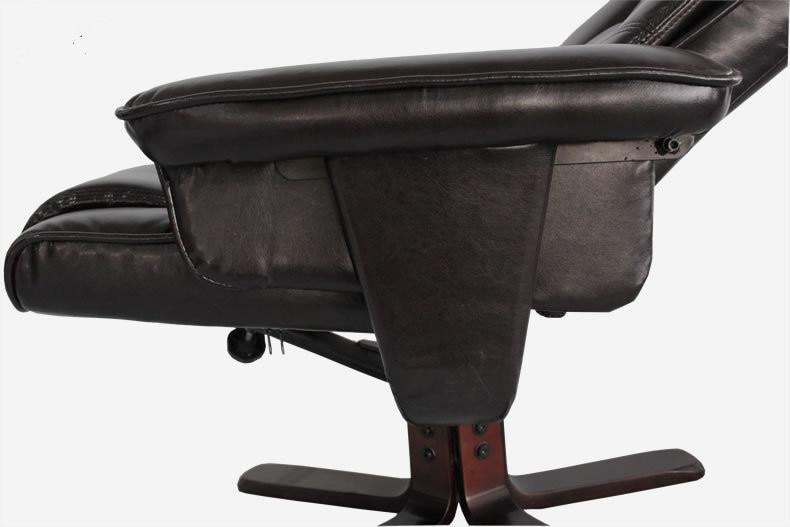 Famoso Silla Giratoria De Cuero Con Muebles Otomana Imagen - Muebles ...