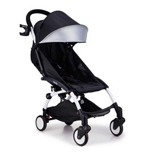 Cochecitos ligeros Aiqi ultra ligero marco blanco buena calidad cochecito de bebé cochecito de bebé umbrellacar boarding accesorios
