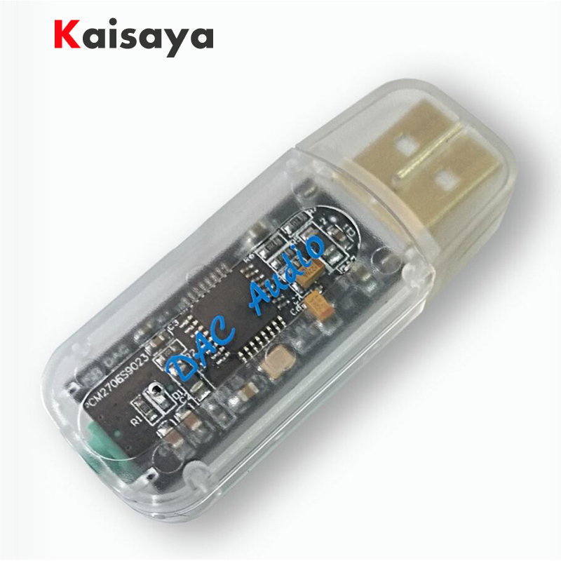new quality PCM2706 + ES9023 audio hifi phone OTG portable USB audio card DAC decoder for amplifier A3-005