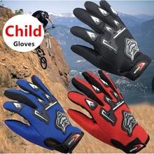 Новое поступление, летние мотоциклетные перчатки с полным пальцем, детские перчатки для мотокросса Luvas, мотоциклетные перчатки Guantes, Детские гоночные Мотоциклетные Перчатки