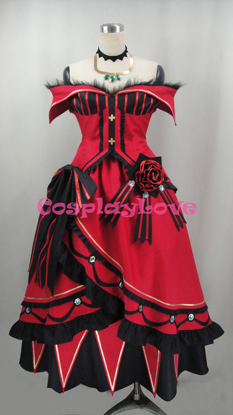 Priscilla Bariel Cosplay Costume From Re:Life In A Different World From Zero Tailor Made Halloween Christmas Costume