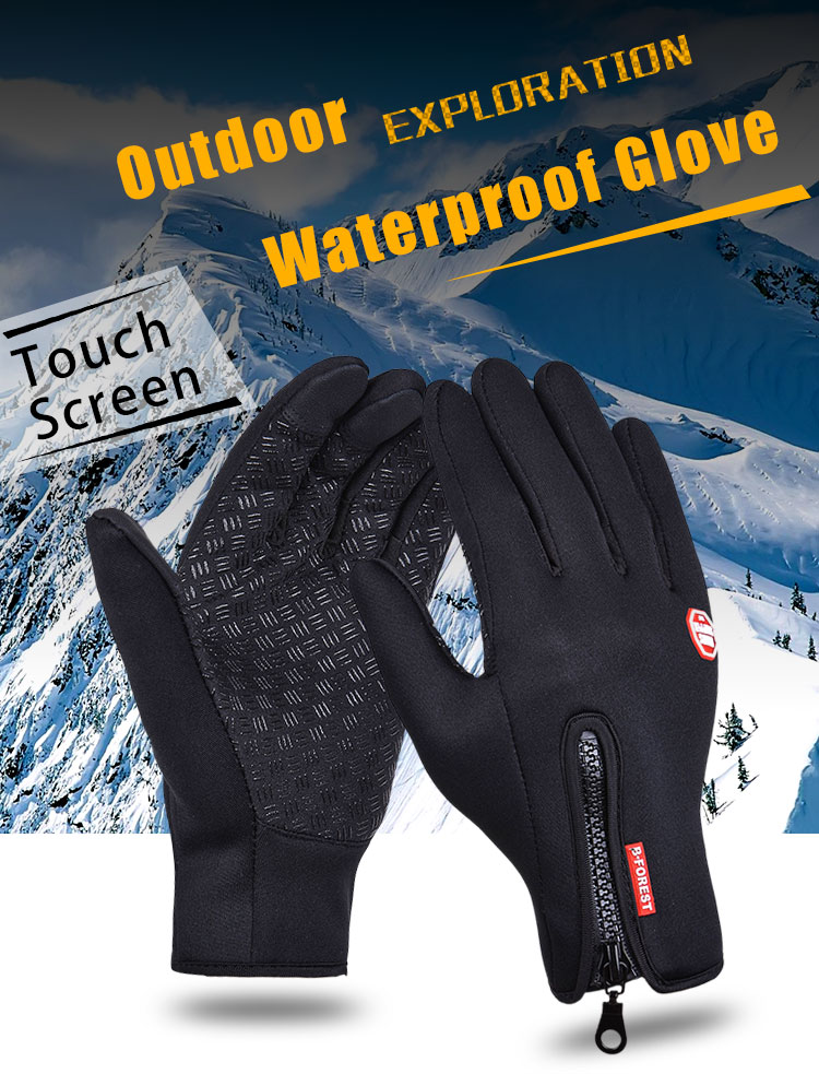 Gants de ski Snowboard Black Forest