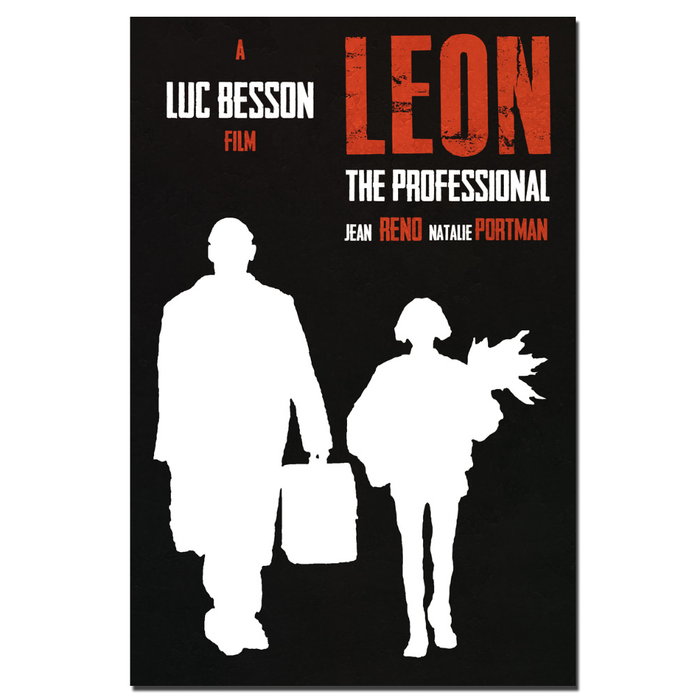 leon the professional movie poster canvas print painting wall art