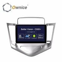 HD 9 дюймов Android 6,0 Octa Core 2 Гб Оперативная память + 32 ГБ Встроенная память Автомобильный DVD плеер для Chevrolet Cruze 2009 2014 радио gps навигатор стерео BT TPMS