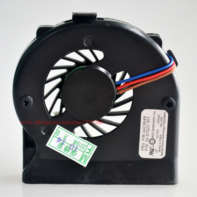 Cooling fan for Lenovo thinkpad IBM X220 X201 X200 X200S X200T cpu fan, New original X220 X201 laptop cpu cooling fan cooler
