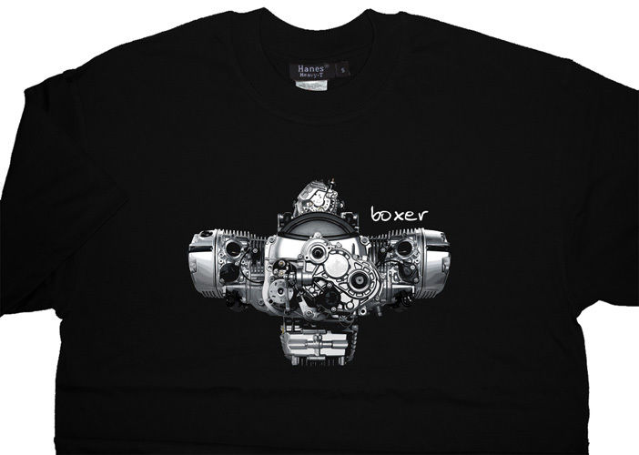 Boxer Engine R1200Gs 1200 Gs R Adventure R1200Rt Rt R R1200R Summer Tops for Man Cotton Fashion Family T Shirts