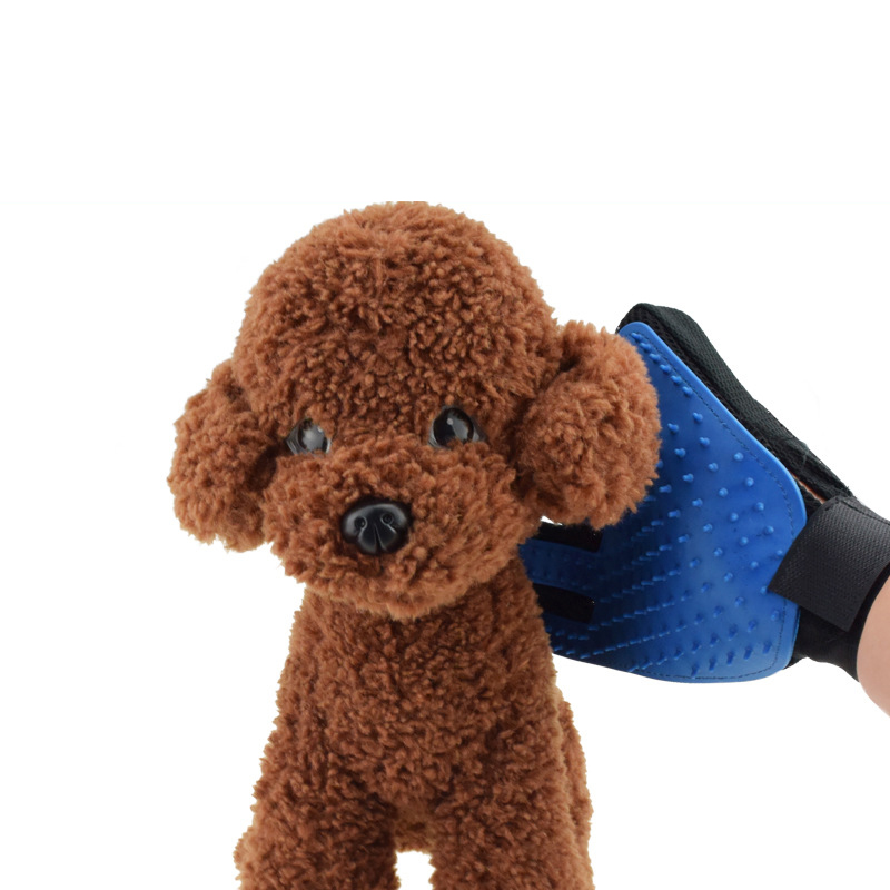 Five Fingers Pet Grooming Gloves for Cleaning and Removal of Dogs and Cats Hair Made of Rubber Useful for Animal Bathing 21