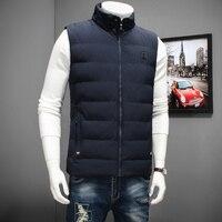 2017 New Plus Size 8XL 7XL High Qualit Men S Cotton Vest Winter Men S Fashion