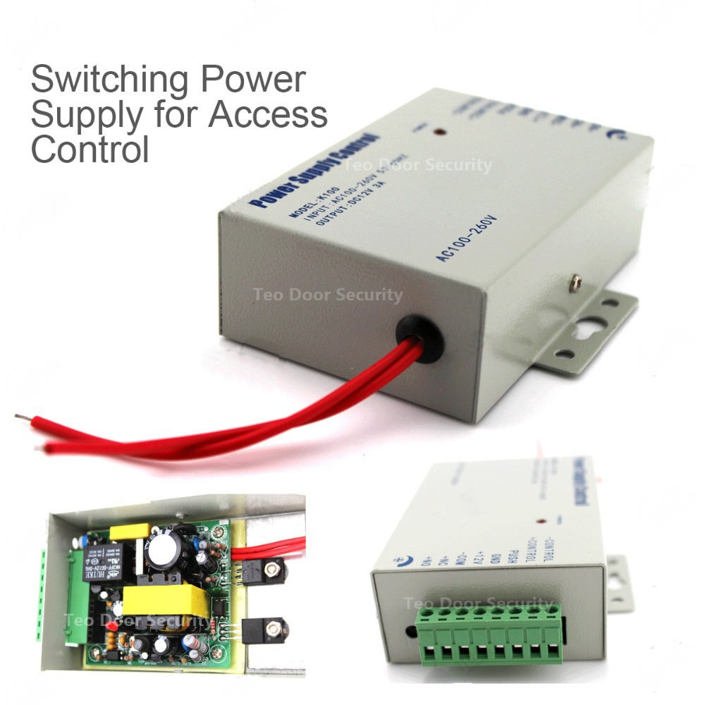 Door Access Control Power Supply DC 12V 3A /AC 110~240V Brand NEW