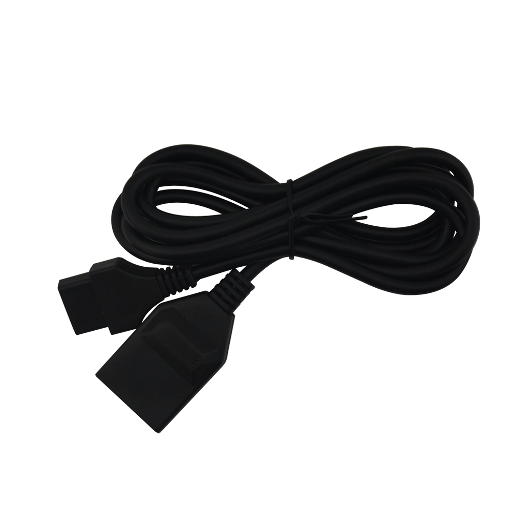 10PCS Free shipping 15 pin 1 8 meter MVS AES controller gamepad joystick extension cable for