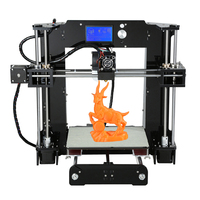 Anet A6 3D Desktop Printer Kit LCD Screen DIY Display 3D Printing Machine With TF Card