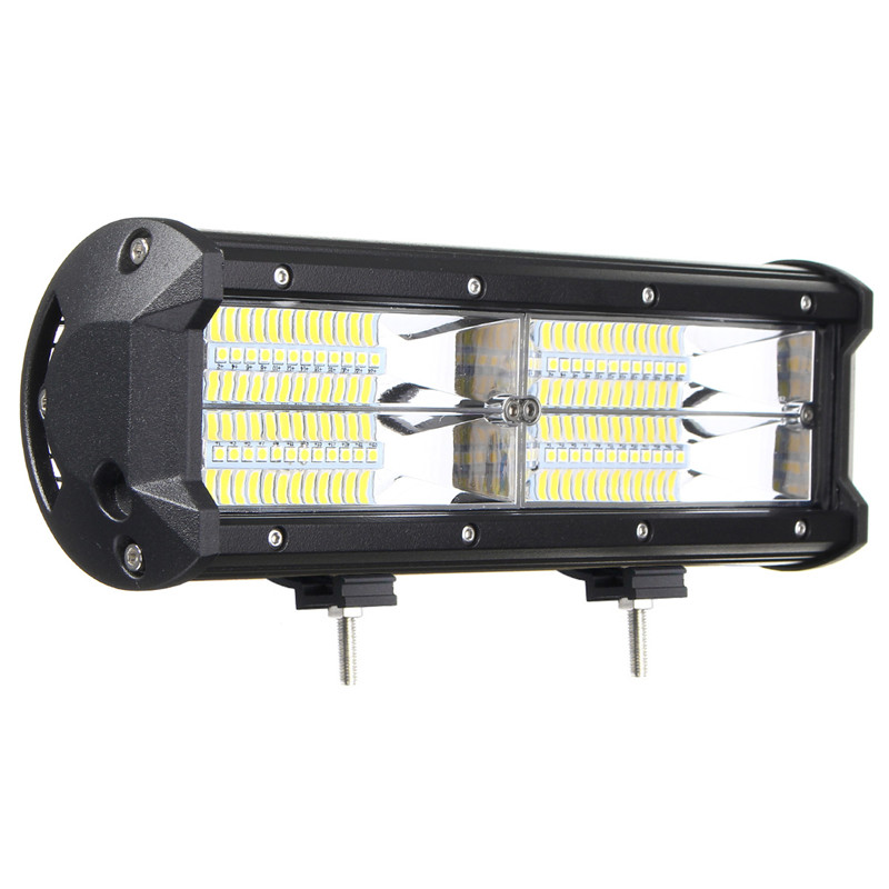LED Work Light Bar 7inch 144W 21600LM 8D Flood Lamp Driving Lamp For Jeep SUV ATV Offroad 4WD DC10-30V IP67 1pcs 10 30v dc 40w 4 cr led 6000k 4 3 inch led work light for project vehicles suv excavators wheel loaders ce rohs ip67