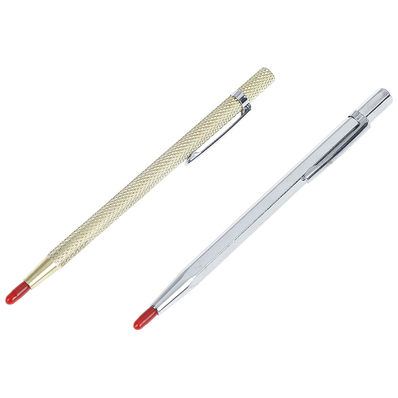 1pc Tungsten Steel Tip Scriber Clip Pen Ceramics Glass Shell Metal Construction Marking Tools BS Approx 143 Mm
