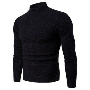 Image 4 - Vomint 2019 tout nouveau Pullovers pour hommes chandails à col roulé chandails basique décontracté Must Have icônes manches longues col haut chandail