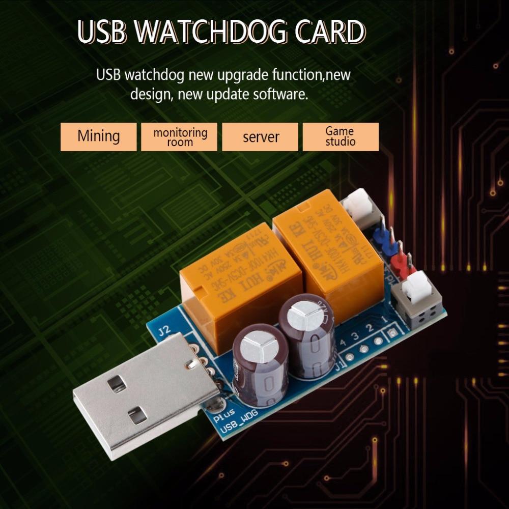 High Quality USB Watchdog V4.0 Card Computer/Mining /Game/Unattended Automatic Restart Blue Screen Crash/Server/LTC BTC C26
