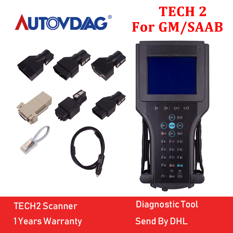 2018 Diagnostic tool For GM Tech2 Diagnostic Scanner Programming for Gm for Saab for Opel for Suzuki 32MB Software Card tech 2 scanner for sale