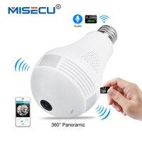 MISECU 5 0MP 3 0MP 1 3MP 360 Degree VR Audio 128GB Slot Wireless IP Camera