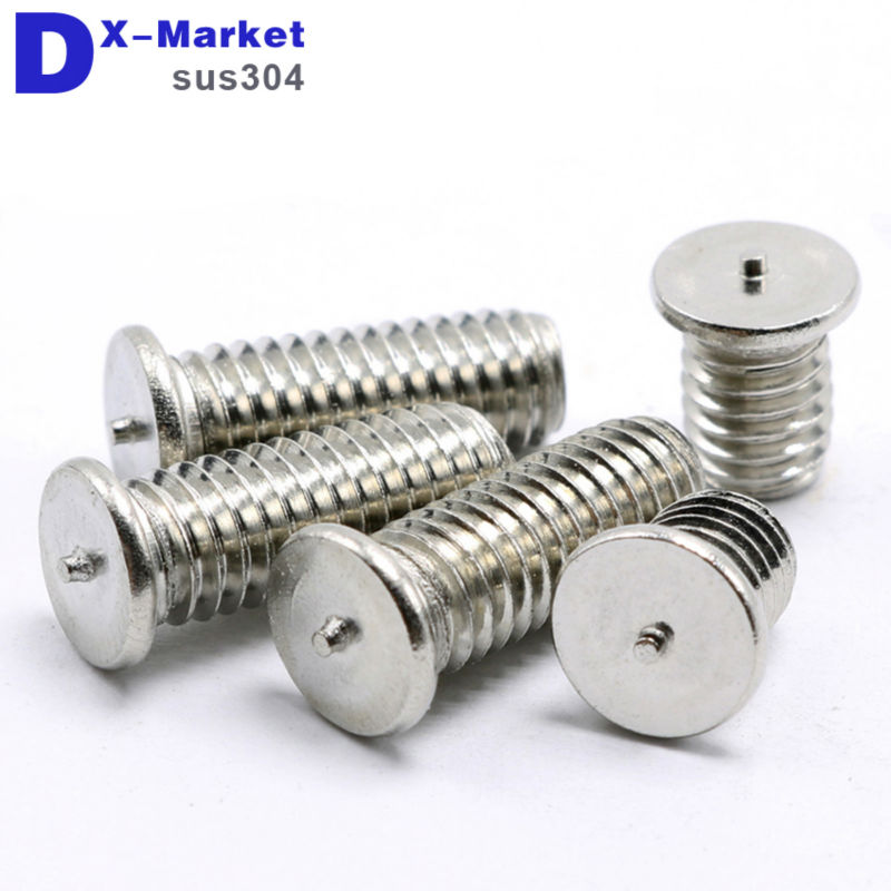 цены m5 welding screw , Head welding screws , 304 Stainless steel welding stud bolt
