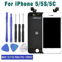 Hot Sale AAA Joyzon Original Screen LCD For IPhone 5S 5C 5 LCD Display Digitizer Screen
