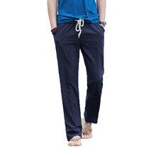 New Pants Men Brand Mens Joggers Thin Straight Trousers Streetwear Sweatpants Clothing Harajuku Male Cotton