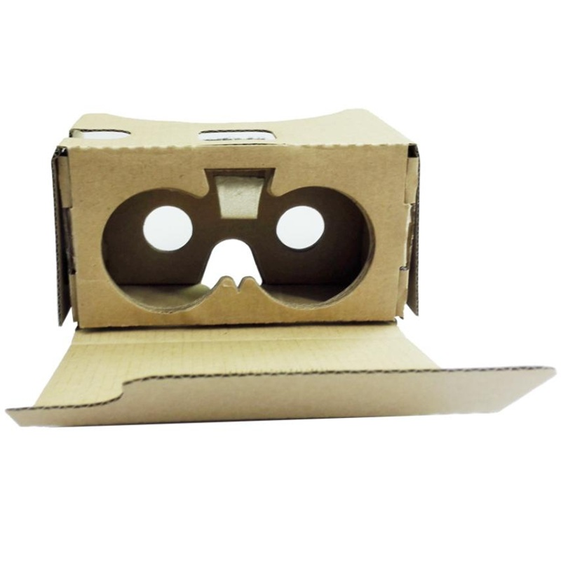 2016 HOT SALE New For Google Cardboard V2 3D Glasses VR Valencia Quality Max Fit 6Inch Phone  Virtual glasses NICE