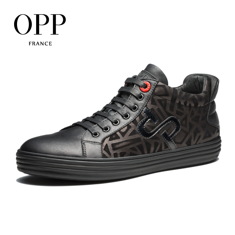 OPP 2017 New Men Shoes Loafers For Men Cow Leather Flats Shoes Autumn and Winte Casual Shoes Individual Loafers footwear for Men zplover fashion men shoes casual spring autumn men driving shoes loafers leather boat shoes men breathable casual flats loafers
