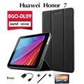 Для Huawei honor чан играть tablet LTE кобура BGO-DL09 ультра-тонкий случаях поддержка оболочки набор из 7.0 дюйм(ов) pu Кожаный Чехол крышка