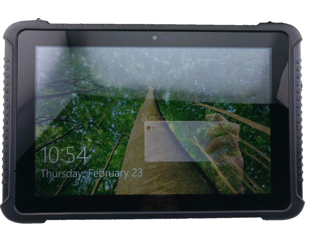 "Image 4 - China Industrial Rugged Tablet PC Touch Windows 10 Pro 10.1"" tough Waterproof Phone Android 4G LTE Fingerprint Reader toughbook-in Cellphones from Cellphones & Telecommunications"