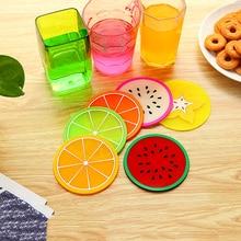 2 шт. Kawaii офисный стол набор свежие фрукты подставки аксессуары для размещения кружек чашки украшения стола аксессуары Органайзер поставка