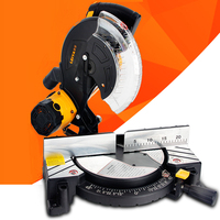 1100W Aluminum Cutting Machine Aluminum Sawing Machine Multifunction Belt Saw 10 Inch Wood/Plastic/Aluminum Cutter LY255 01
