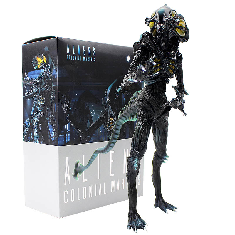 23cm Crazy Toy Aliens Colonial Marines 1/6 Scale Painted Figure Alien Figurine PVC Action Figure Model Collection Doll For Gift купить недорого в Москве