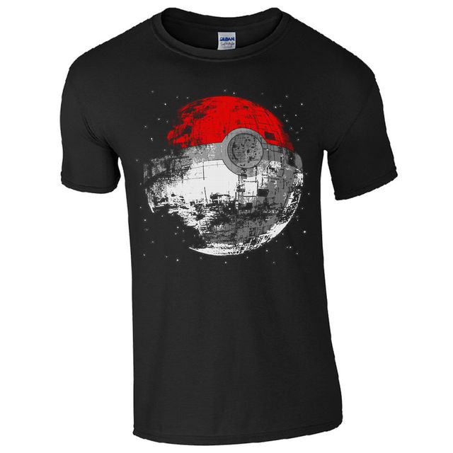 Star Wars Death Star Pokeball T-Shirt Unisex