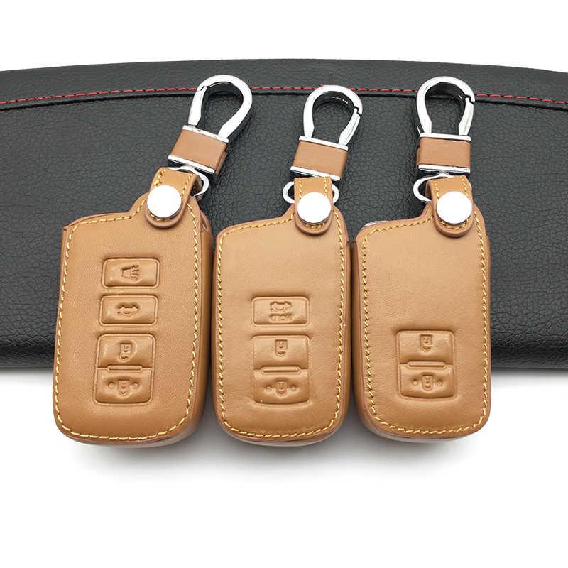 Do samochodu stylowy obudowa kluczyka do samochodu dla TOYOTA RAV4 Corolla Camry korona Prado 2/3/4 przycisk obudowa inteligentnego pilota z kluczykiem samochodowym przypadku kluczowe akcesoria